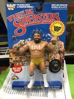 1986 LJN WWF Wrestling Superstars Billy Jack Haynes MOC Afa Quality old stock