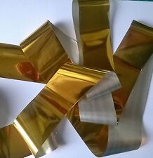 Pure gold transfer nail art foil - 1 meter