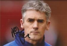 Blackburn: Alan Irvine firmado 6x4 foto de acción + certificado De Autenticidad