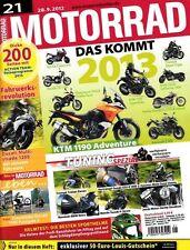 M1221 + Vergleich APRILIA Mana 850 cs. HONDA NC 700 S DCT + MOTORRAD 21/2012