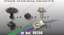 Unterfahrschutz Clips Schrauben für VW PassatB5 Audi A4B5 Seat Exeo Skoda Superb