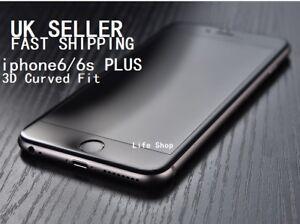 For iPhone 6Plus 6splus Carbon Fiber 3D Full Tempered Glass Screen Protector