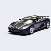1:32 Koenigsegg Agera R Sports Car Model Toy Vehicle Metal Diecast Black Gift