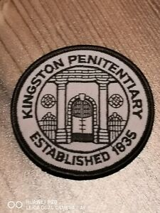 Kingston Penitentiary/Jail Canada patch!