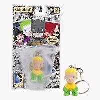 Aquaman Vinyl Figure Kid Robot DC Universe Keychain NEW MOC