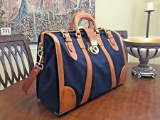 FOSSIL Carpenter  Leather & Canvas  Doctor bag /  Briefcase / Weekender