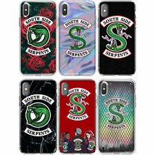 SouthSide Serpents Riverdale Snake Soft Phone Cover Case For All iPhone Apple