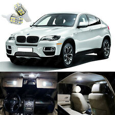21 x Xenon White LED Interior Light Package Kit For BMW X6 Series E71 2008 -2014