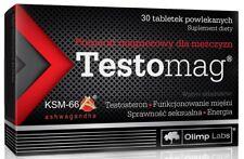 OLIMP TESTOMAG Magnez Dla Mezczyzn 30 tabl Magnesium For Men 30 tabs Male Health