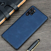 For Samsung Galaxy Note 10 Plus S10 S9 S8 Plus Retro PU Leather Soft Cover Case