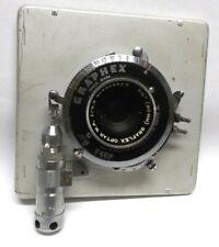 "Vintage Graflex Optar W.A. f/6.8  3 1/2"" 90 mm Large Format  Camera Lens"