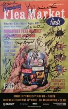Liza Minnelli, Victor Garber + MANY MORE Signed Broadway Flea Market Poster