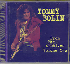 TOMMY BOLIN - from the archives volume two CD