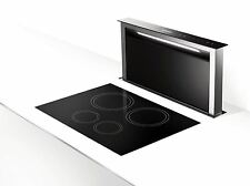 Faber Fabula Downdraft Stainless Steel & Black 900mm Cooker Hood