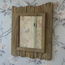 Legno Driftwood Specchio parete stile shabby Chic Rustico Nautico Bagno Home Decor