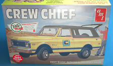 AMT 1/25 1972 Chevy Blazer Crew Chief 897 AMT897 Plastic Model Kit Stock or Off