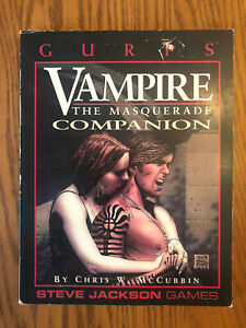 SJG GURPS Conversions Vampire the Masquerade - Companion EXC!