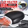 2 In 1 Car Heater Cooler Fan 300W 12V Warm Demister Windscreen Screen Defroster
