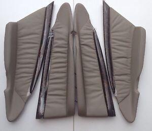 WH WK WL Grange HSV VY VZ new1 Full Set Dark Reed wood Leather inserts Last Set