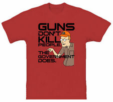 King Of The Hill Dale Guns TV Episodes T Shirt Design tshirt printing tee shirt