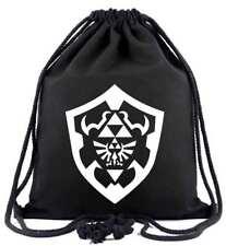 The Legend of Zelda Bag Beutel Tasche Turnbeutel Sport Shield Breath Wild NEU