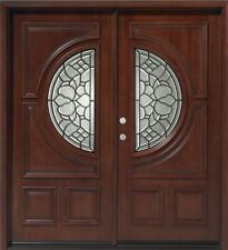 Holidays Sale!!!Solid Mahogany Wood Door, Prehung & Finished DMH7587 6/0X6/8