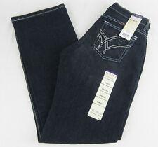 Womens Wrangler Q-BABY Mid Rise Boot Cut Absolute Star Jeans WRQ20AU SZ 3/4 x 32