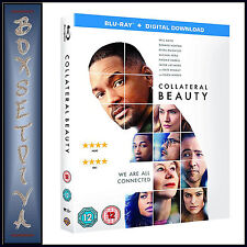 COLLATERAL BEAUTY -  Will Smith & Edward Norton  **BRAND NEW BLU-RAY***