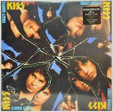 KISS Crazy Nights 180g 2014 Audiophile - vinyl record LP SEALED OOP Brand New