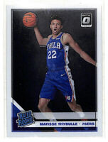 2019-20 Donruss Optic #192 Matisse Thybulle Rated Rookie RC card 76ers