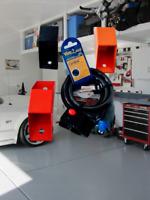 ACCESSORI MOTO Cavo in Acciaio Lucchetto Ancoraggio a Terra Antifurto Garage