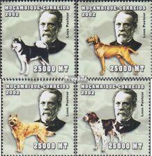 Mosambik 2524-2527 postfris MNH 2002 Persoonlijkheden