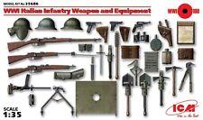 WW I ITALIANO Armi di Fanteria (BERETTA, MANNLICHER, VILLAR-PEROSA, ecc.) 1/35 ICM