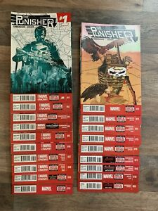 Punisher 1-20 Complete Run Lot Collection All New Marvel Now Edmonson Gerads
