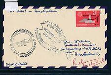 06611) KLM FF Amsterdam - Kuwait 25.9.63, Kte NL Antillen SST fishing tournement