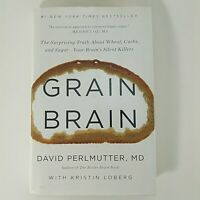 Grain Brain  by David Perlmutter MD Hardcover 2013 English Food Health