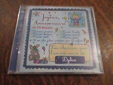 cd album bon anniversaire DYLAN joyeux anniversaire