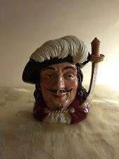 Vintage Royal Doulton Large Toby Character Jug Porthos D6440 Porcelain Stein Mug