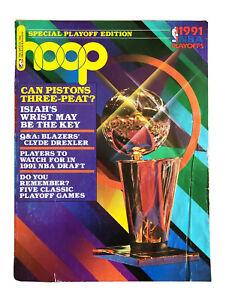 Vintage June 1991 Hoop Magazine Los Angeles Lakers Pistons Three-Peat