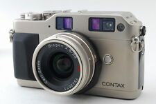NEAR MINT Contax G1 w/Carl Zeiss biogon 28mm f/2.8 T* from Japan #79