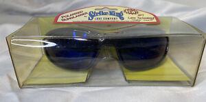 Strike King SG-TGR2 Polarized Sunglasses Shiny Black/Blue Mirror - Fishing