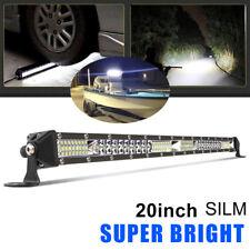 "Ultra-thin 22inch 560W LED Work Light Bar Spot Flood Combo Truck Single Row 20"""