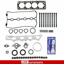 04-05 Chevrolet Aveo 1.6L MLS Head Gasket Set + Bolts Kit+Silicone 98cid Engine
