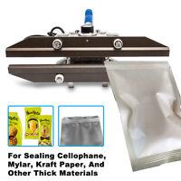 Portable Hand Held Heat Sealer Crimp Heat Sealer For Mylar Bags Aluminum Foil