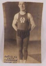 1921 Photograph Of Acrobat Huntsville Alabama CM Alexander Sports Gymnastic