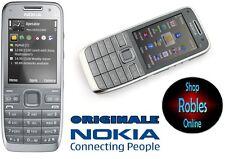 Nokia e52 Grey (sin bloqueo SIM), Smartphone WLAN 3,2mp 4 banda 3g GPS Finland Top
