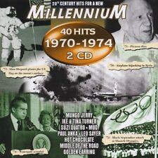 Millennium 1970-1974 (40 Hits) Mungo Jerry, Hot Butter, Mud, Suzi Quatr.. [2 CD]