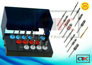 New Universal Osseodensification Implant Burs Drills Kit 13 Pcs Densah Burs CE