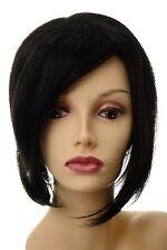 Toupet Haarteil Haarersatz Aufsatz Haarauffüller groß lang Schwarz L056-2