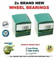 2x Front Axle WHEEL BEARINGS for VOLVO S60 1.5 T3 2015->on